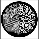Nail Art Stamping Schablone Nr. JQ-31