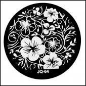 Nail Art Stamping Schablone Nr. JQ-64