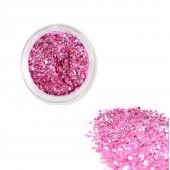 1 Döschen D11 Glitzer Flakes  Pink Flieder Laser Glitter